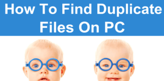 How to find and delete duplicate files on pc windows