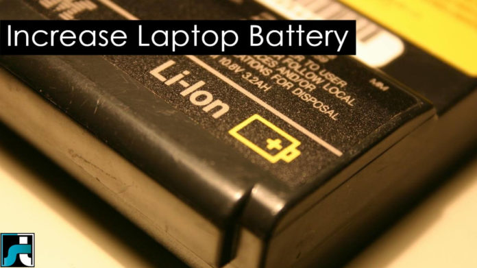 How to increase laptop battery life on windows 7 8 10