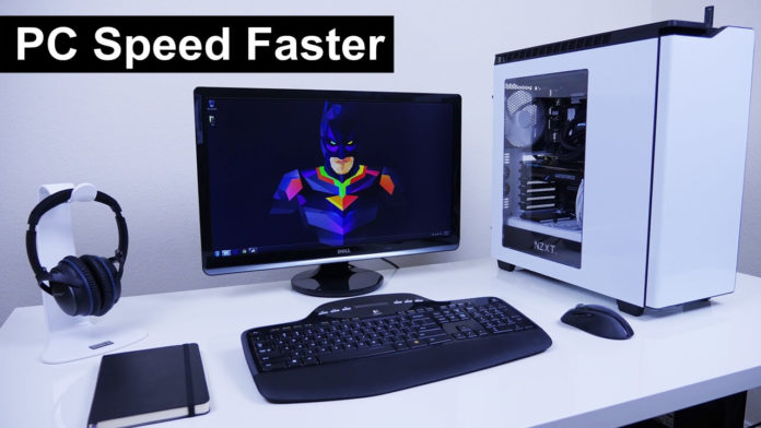 How to make pc laptop run faster