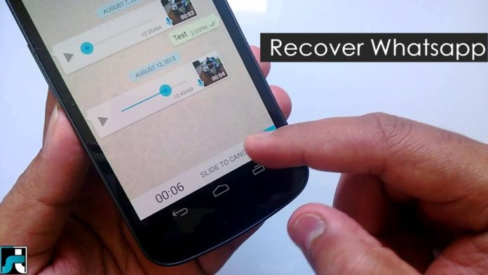 How to recover deleted whatsapp messages images videos chats