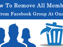 How To Remove All Members From Facebook Group At Once