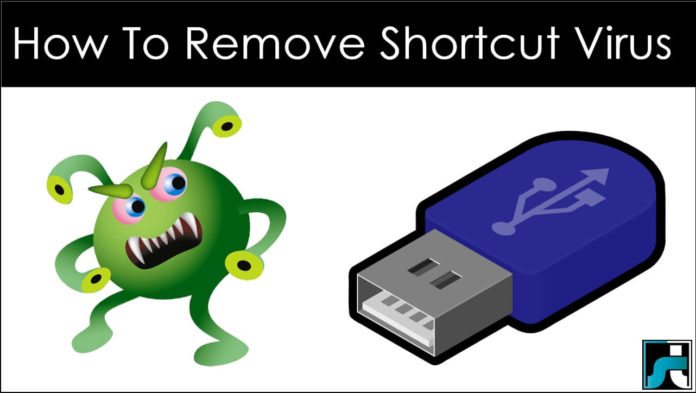 How to remove shortcut virus from pendrive pc windows
