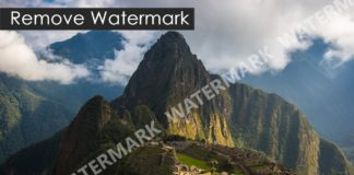 How to remove watermark from images photos
