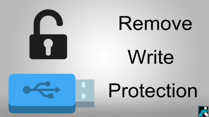 How to remove write protection from pendrive usb sd card