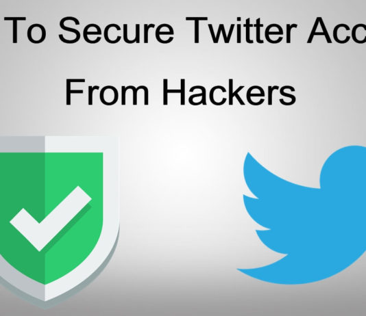 How to secure twitter account from hackers