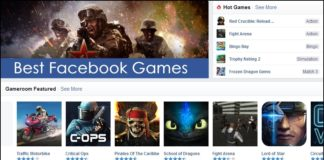 Top best facebook games list image