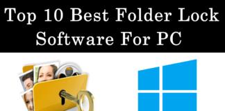 Top best folder lock software for windows pc