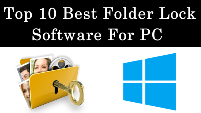 Top best folder lock software for windows pc