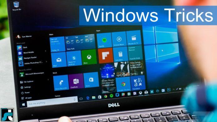 Windows tricks hacks secrets shortcuts