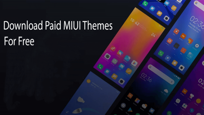 Download Paid MIUI Themes for Free
