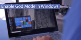 Enable God Mode In Windows Thumbnail