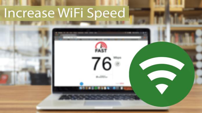 Increase WiFi Speed Thumbnail