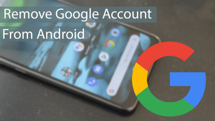 Remove Google Account From Android Thumbnail