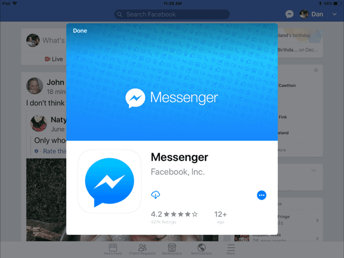 What Facebook Says To Recover Messages