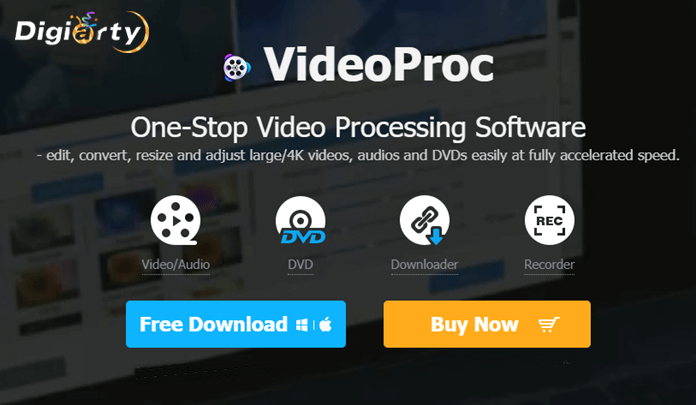 VideoProc Software