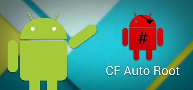 CF Auto Root Logo