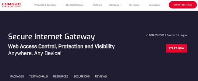 Comodo Secure DNS Thumbnail