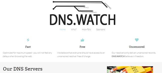 DNS Watch Logo