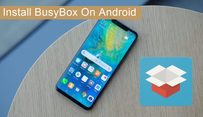 Install BusyBox on Android