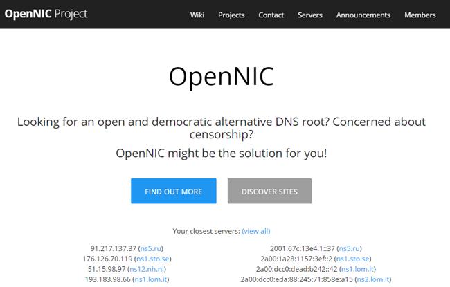 OpenNIC Thumbnail