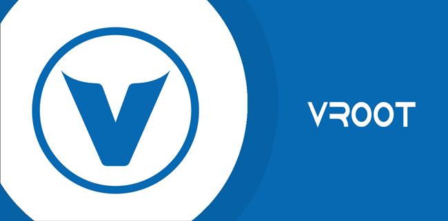 VRoot logo