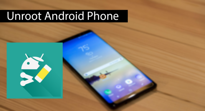 How To Unroot Android Phone Thumbnail