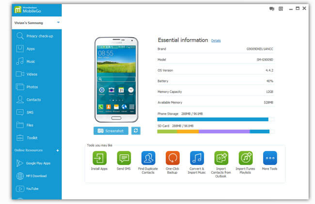 android transfer software