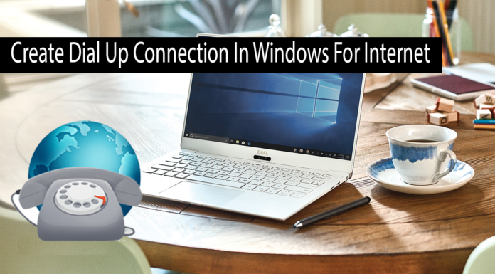 How To Create Dial Up Connection In Windows For Internet Thumbnail