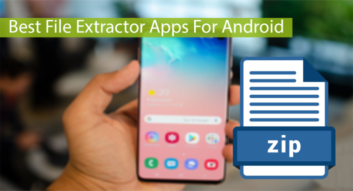 Top 10 Best Rar, Zip File Extractor Apps For Android Thumbnail