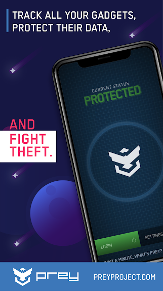 find android by prey anti theft