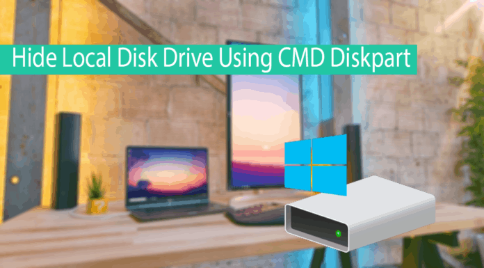 How To Hide Local Disk Drive Using CMD Diskpart Thumbnail