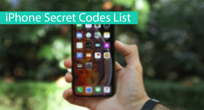 iPhone Secret Codes List Thumbnail