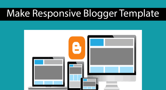 How To Make Responsive Blogger Template Thumbnail