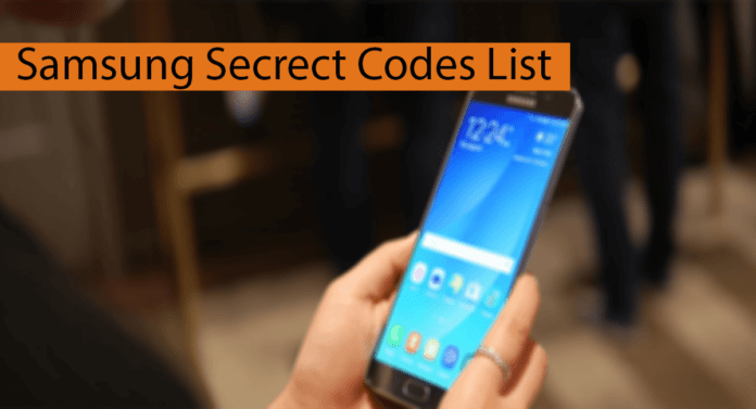 Samsung Secret Codes List Thumbnail