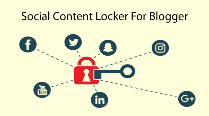 How To Create Social Content Locker For Blogger Thumbnail