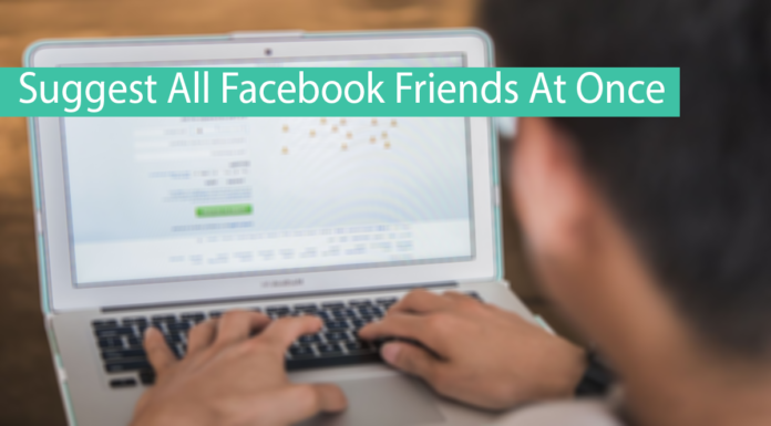 How To Suggest All Friends On Facebook At Once Thumbnail