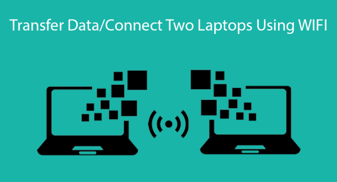 How To Transfer Data/Connect Two Laptops Using WiFi Thumbnail