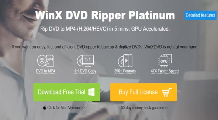 WinX DVD Ripper Platinum Review Thumbnail