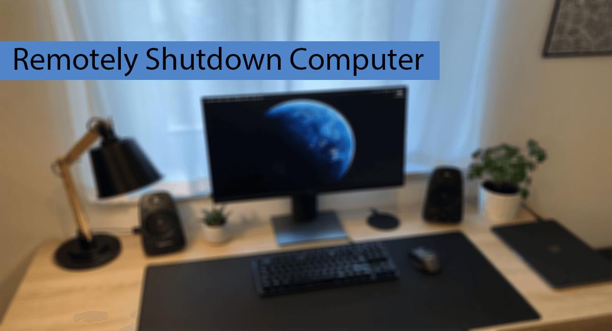 How To Remotely Shutdown Computer Thumbnail
