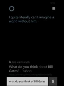 cortana bill gates