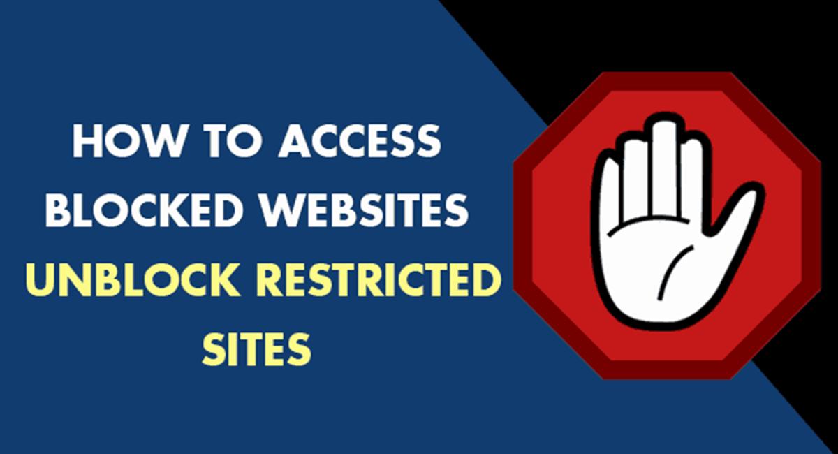 access block websites