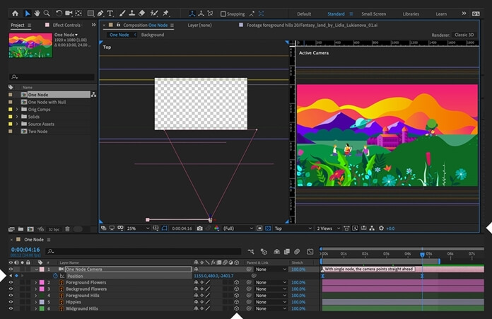 Adobe After Effects Interface