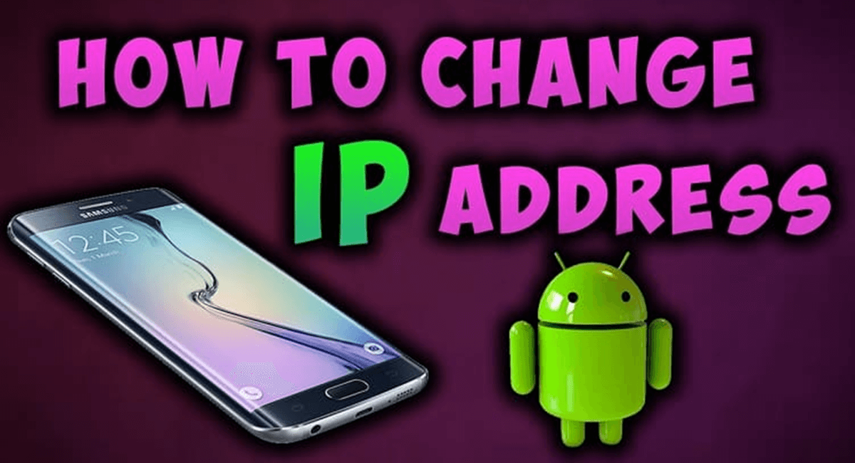 change ip address on your phone