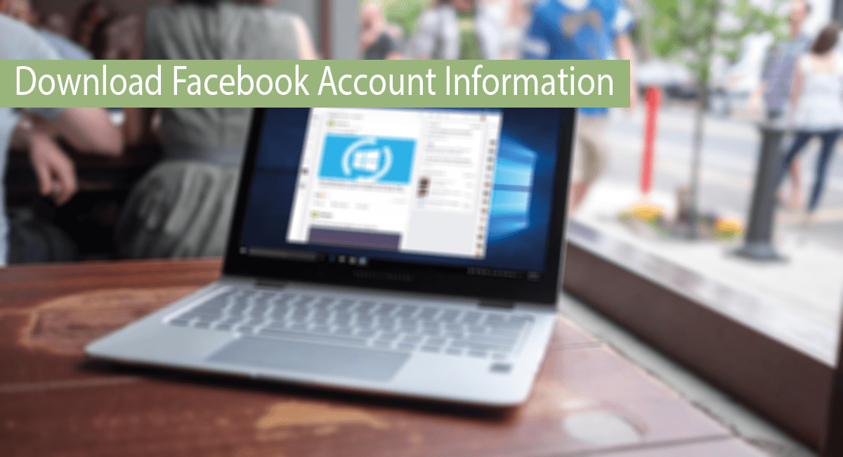 How To Download Facebook Account Information Thumbnail
